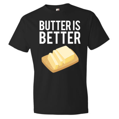 Butter is Better - Men's Black