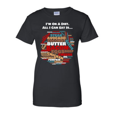 I'm on a Diet - Women's Black