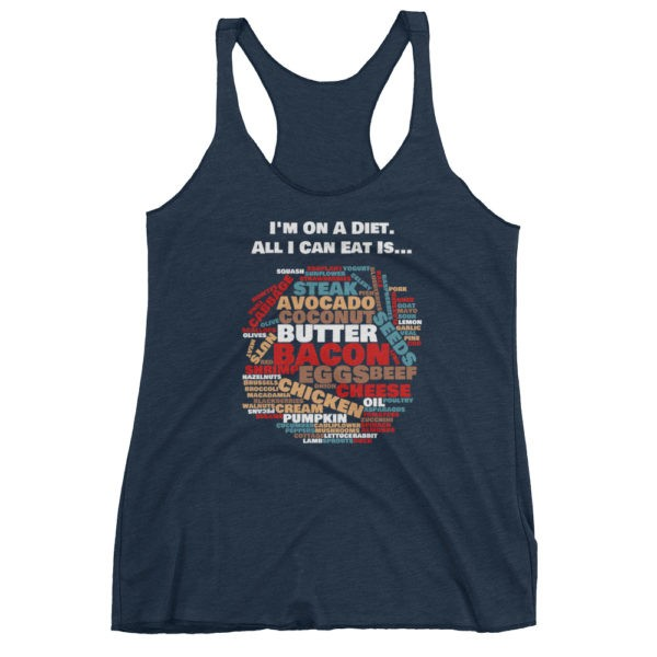 I'm on a Diet - Women's Navy