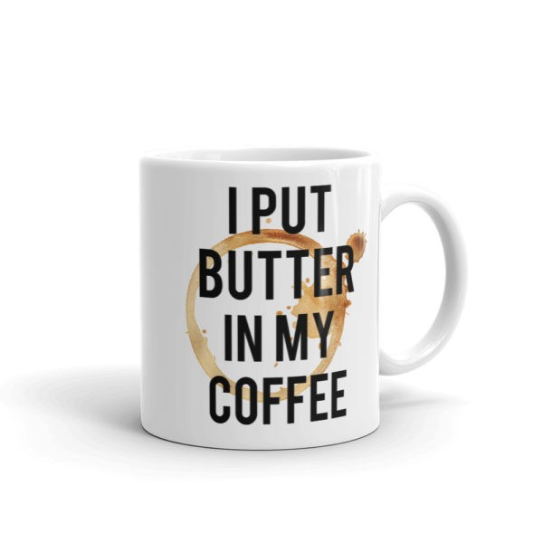 i put butter in my coffee mug trylowcarb